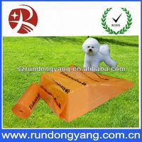 biodegradable dog shaped poop bag