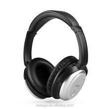 airplane use headband Noise cancelling music/video headset with Aircraft adapter