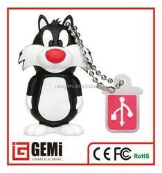 Hot Sell 8GB USB Drive Best Gift Pen Drive USB 2.0 Flash Memory PenDrive Cartoon Shape USB Flash Drive