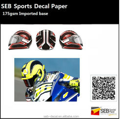 helmets water transfer paper decals