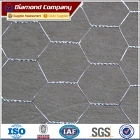 Anping Hexagonal Wire Mesh/ PVC coated Chicken Wire Netting factory direct sale