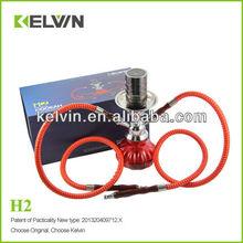 2014 alibaba caliente de la venta de la cachimba e kelvin original e golpe de la cachimba