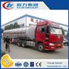 CLW Crude Oil tank semiTrailer fuel diesel lube semitrailer 3axles 11000 Gallon Semi trailer with 6, 000 Gallon capacity