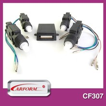 Two master central locking system car motor lock with unique appearance