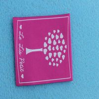 baby swimsuit woven clothing tags labels woven label machine