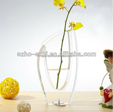 Beauty crystal flower vase custom for decoration