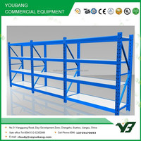 Hot sell high quality 4 layer 3 bay long span warehouse racks for sale, storage rack (YB-WR-C17)