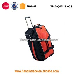 Big size travel trolley bags with wheels