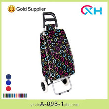 Cheap promotional bag shopping cart and trollley for housewife