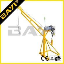 China alibaba supply mini crane,mini elevator,small gantry crane for lifting building material