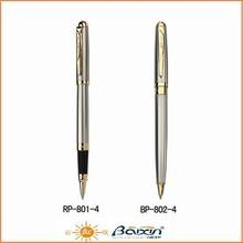 China Stationery Factory Wholesale metal pen set /roller tip pen & ball pen set 801-4
