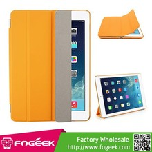 Fast Shipping Four-fold Leather Smart Cover for iPad Air w/ Detachable Companion Shell Case