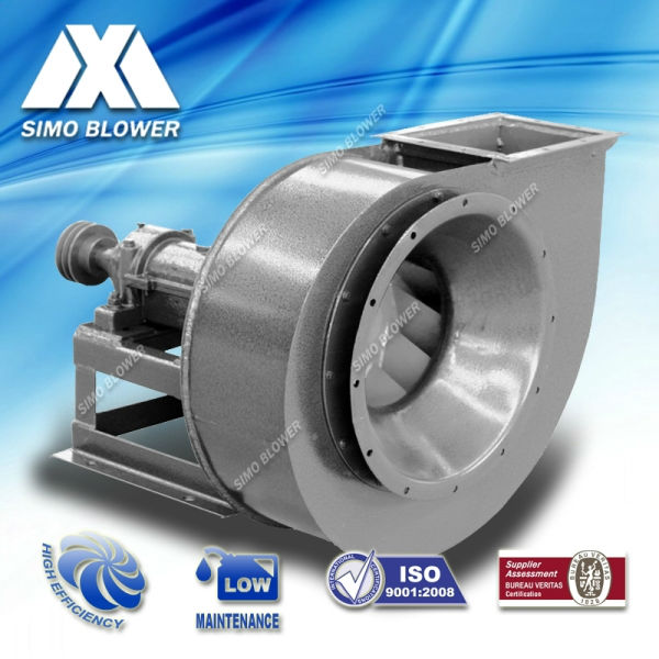 Medium Pressure Centrifugal Blower : Medium pressure backward curved brick kiln centrifugal fan