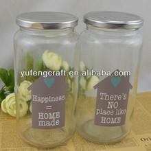 vasilha de vidro set alimentos tampa frascos de vidro de selagem