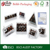 Hot selling food-grade clear plastic chocolate boxes supplier