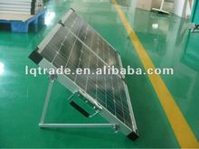 24 Watt folding solar panel with regulator wiring and legs