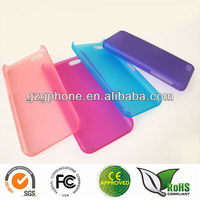 transparent color PC hard back cover case for iphone 5C