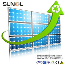 100 watt mono sunpower solar panel for Africa