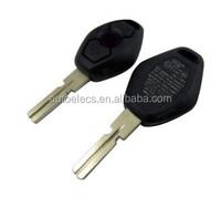 Car key fob remote key 4 track HU58 315mhz for BMW EWS key blank 3 button ID44 chip
