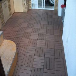 wooden floor tiles car showroom WPC floor tiles high standard protable pvc wood floor