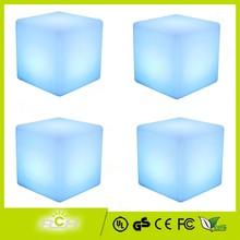 12 Hours Working LED Light Up Cube, LED Cube