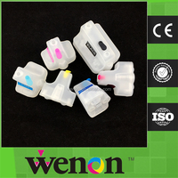 refill ink cartridge for hp 02 refillable cartridge with chip
