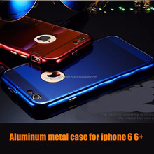 New fashion utral thin wire drawing aluminum metal case for iphone 6 6+, brushed case cover for iphone 6 plus