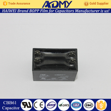 Factory direct ADMY best price cbb61 fan esr meter capacitor wholesale