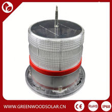 solar power led warning light for indoor,corridor courtyard,camping and field operations,etc
