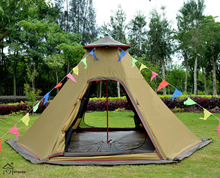 new arrival best 3-4 person family teepee camping tent,best tent camping