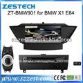 zestech hd gps del coche sistema de navegación dvd reproductor estéreo de la radio para bmw x1 e84