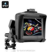 "3.5"" Touchscreen waterproof Motorcycle GPS Navigation SAT NAV Bluetooth Connect 4GB"