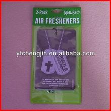 Rose smell car freshener/rose scented air freshener