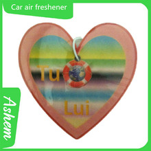 The best selling promote car paper freshener/paper freshener with logo printing-IC 760