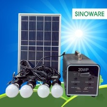 20W solar panel system solar power system off-grid solar system for home