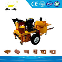 M7MI interlocking clay brick machine production line