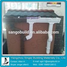 Canaleta del tejado lluvia marrón canaleta del tejado canalón de drenaje del sistema para Yobe personas
