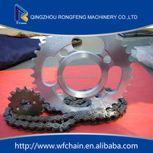Factory price high quality bajaj discover 135 chain sprocket