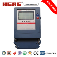 Three-phase Static Active/Reactive Energy Meter power meter bi directional meter
