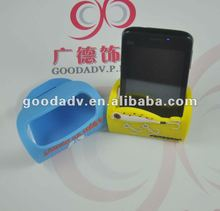 2014 new design temperature resistant lazy phone holder with logo
