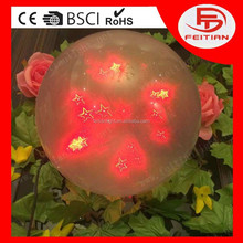 remote controlled red ball decoration light CE ROHS GS certificated and new designed popular led home decoration light