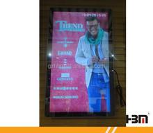 "42"" wall-mounted Motion Sensor LCD/LED Advertising Player Magic Mirror advertisement"
