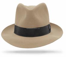 High quality panama children felt rock fedora hat QHAT-5531