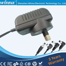 Factory Price AU US EU UK JP Plug 3.6V Pin Type Battery Charger
