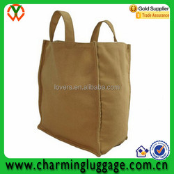 Reusable large grocery tote bag canvas shopping bag foldable