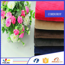 stretch corduroy fabrics 100%cotton heavy corduroy pants