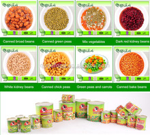wholesale canned vegetables from big canned food factory