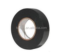 Black Insulating tape pvc adhesive tape