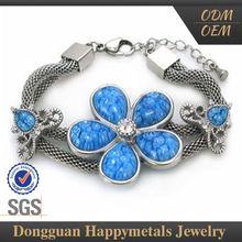Hotsale Highest Quality Customized Design Wedding Jewelry Set Dark Blue