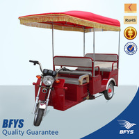 800w with 18 tubes controller for india market electric tricycle rickshaw, tuktuk,three wheeler for 4 passengers